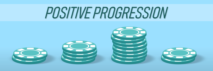 Positive Progressions in Roulette