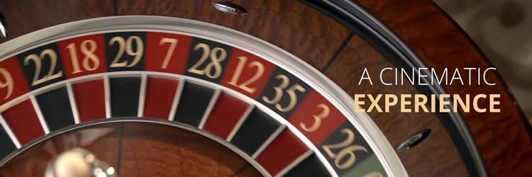 Real Dealer Roulette wheel